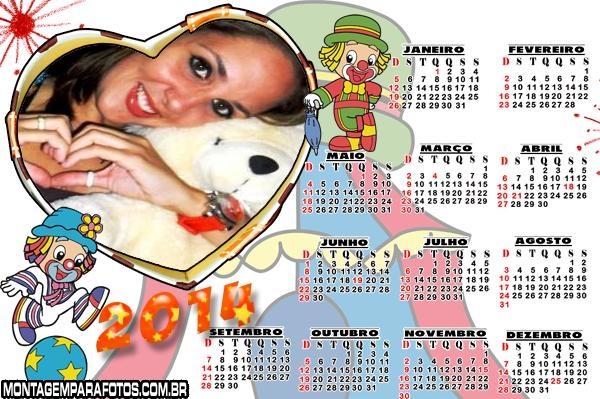 Calendário Patati Coração 2014