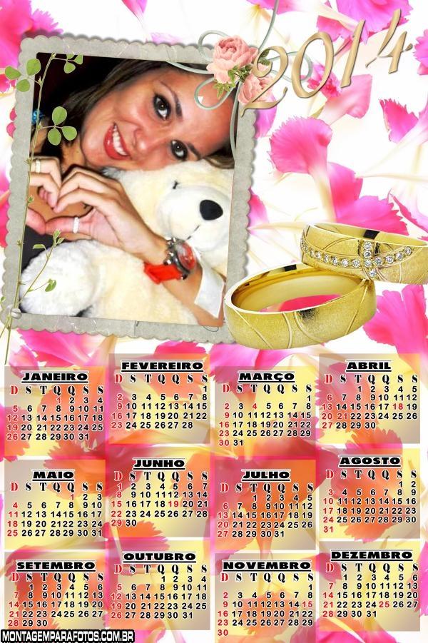 Calendário 2014 Alianças Ouro