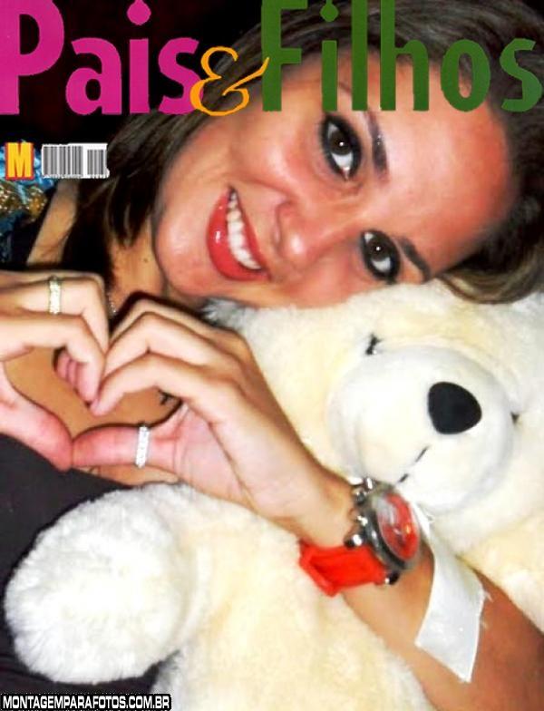 Moldura Revista Pais e Filhos