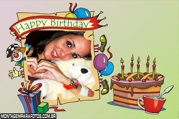 Festa Palhaço Happy Birthday