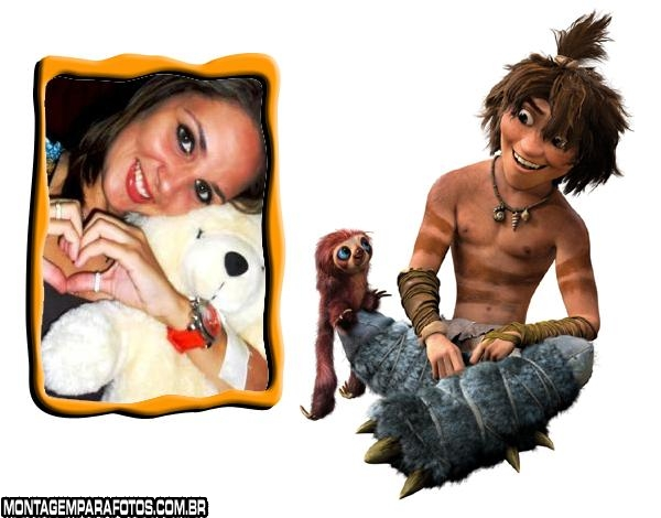 Moldura Guy e Braço The Croods