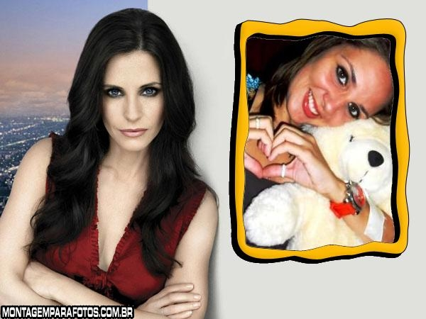 Moldura Courteney Cox