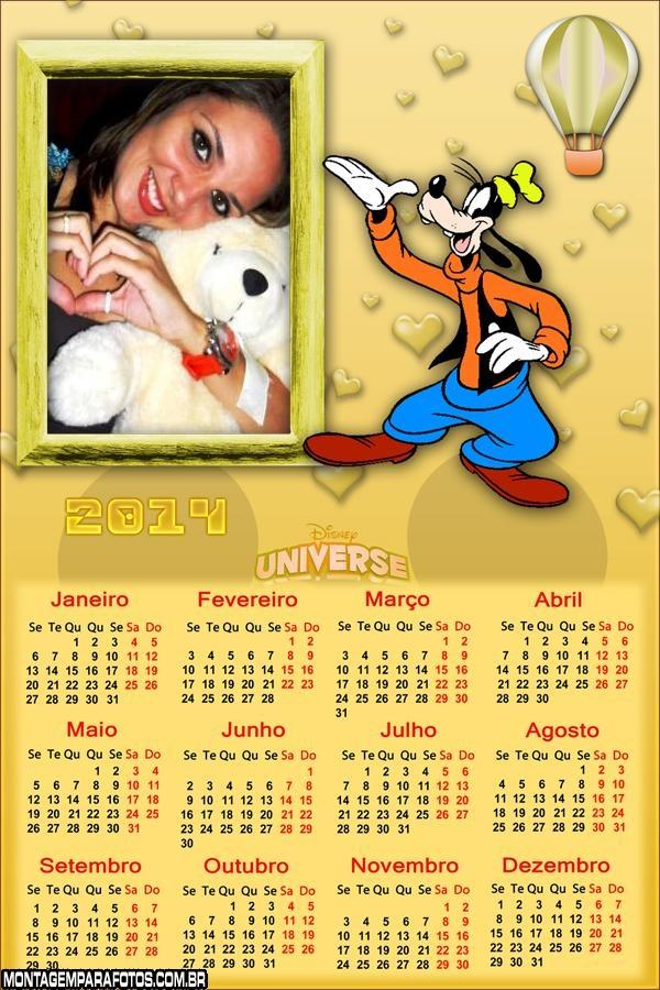 Calendário do Pateta 2014