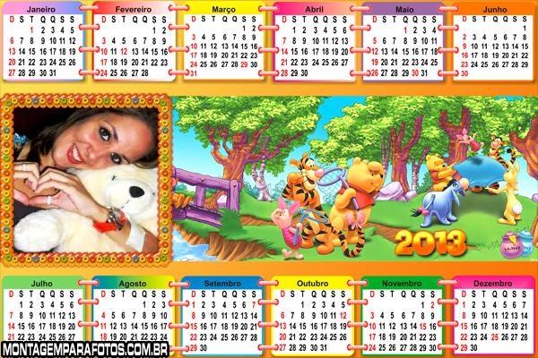 Divertido Urso Pooh 2013