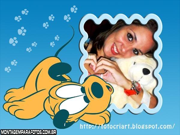 Pluto Cachorrinho Moldura
