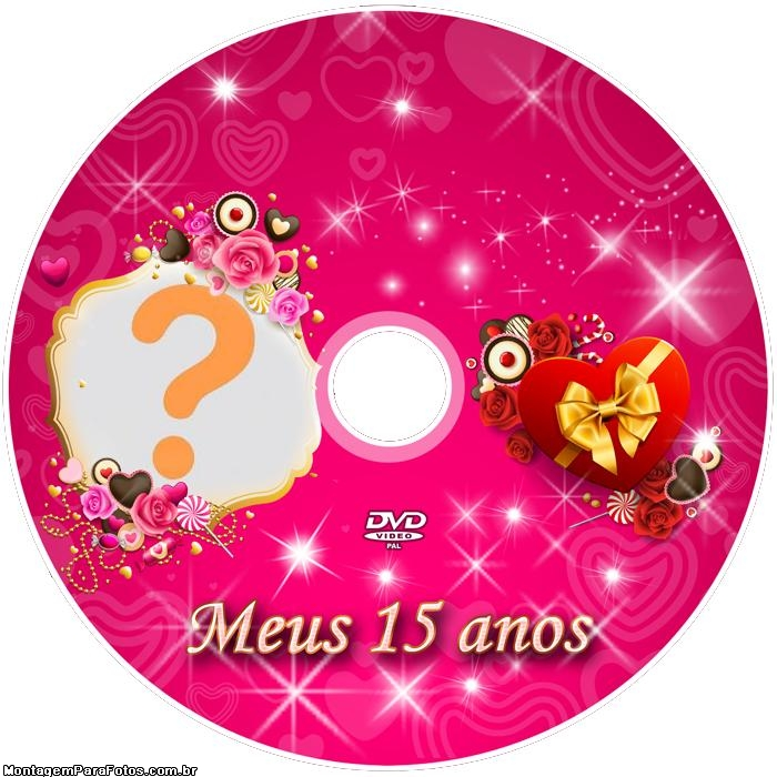 DVD Meus Quinze Anos para Imprimir