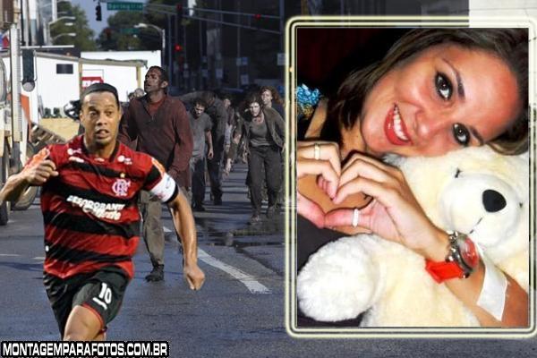 Ronaldinho Gaúcho Fugindo
