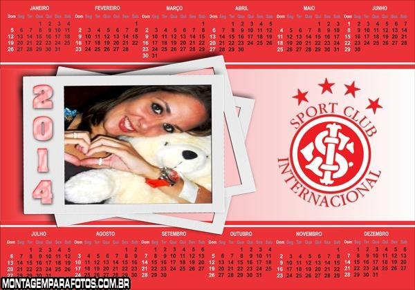 Calendário 2014 Internacional