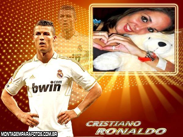 Moldura Cristiano Ronaldo 2012