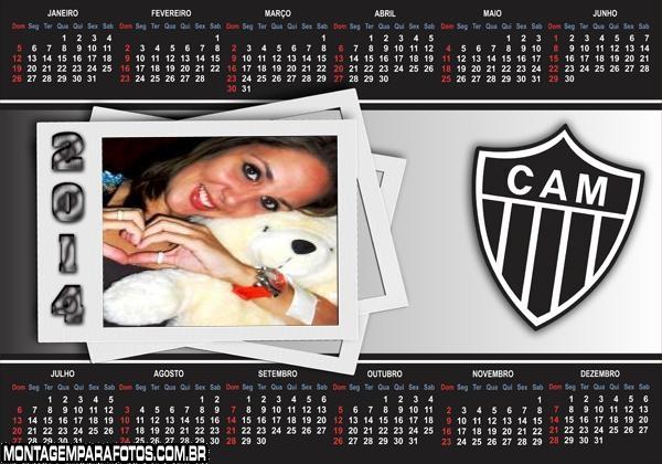 Calendário 2014 Atlético Mineiro
