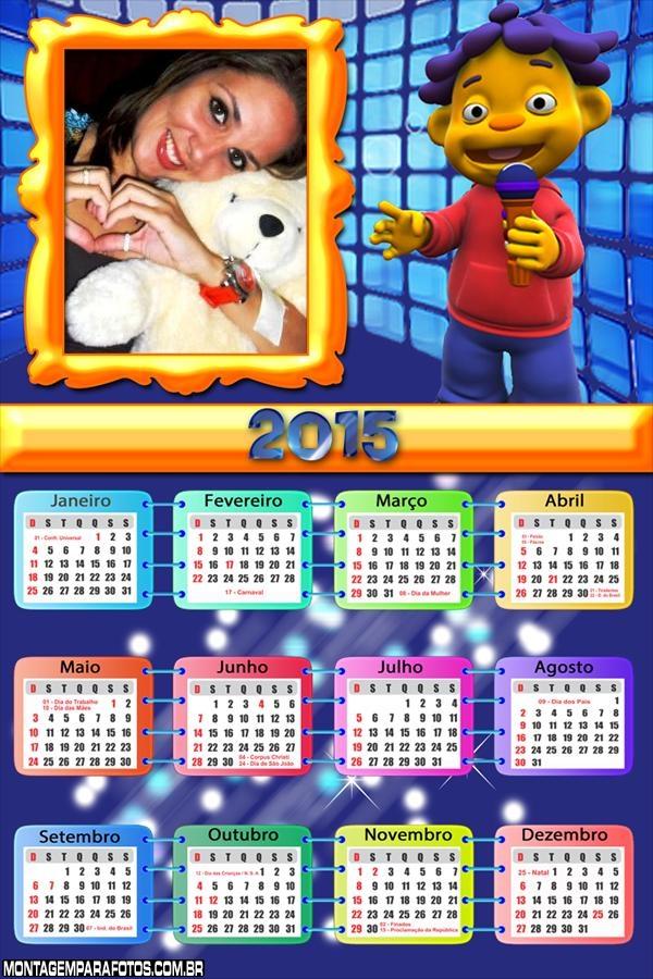 Calendário 2015 Cid Cientista