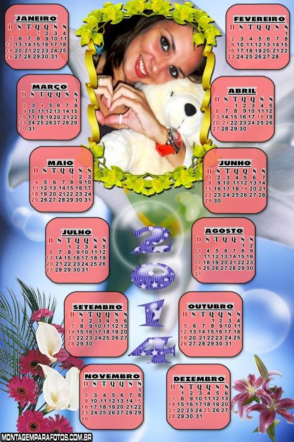 Montar Fotos Calendario 2014