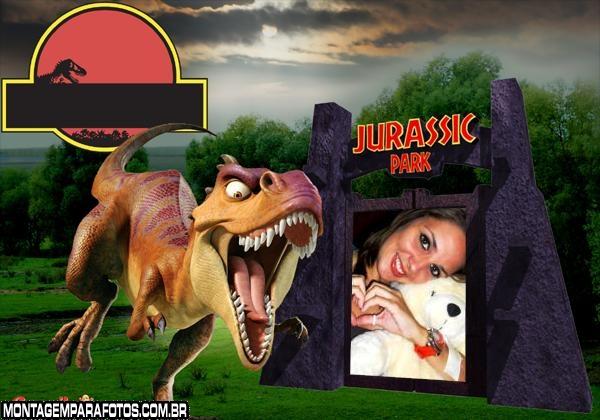 Moldura Jurassic Park
