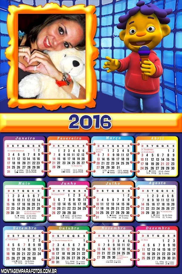 Calendário do CID 2016 Desenho