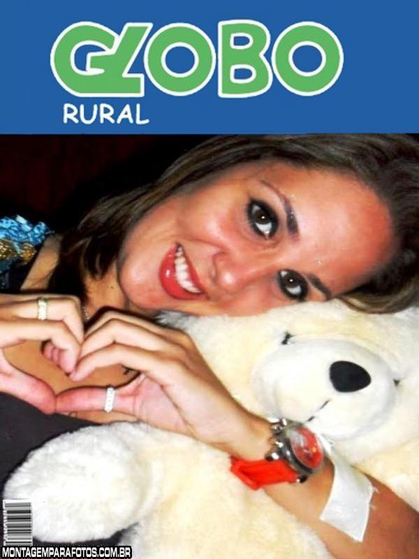 Moldura Revista Globo Rural
