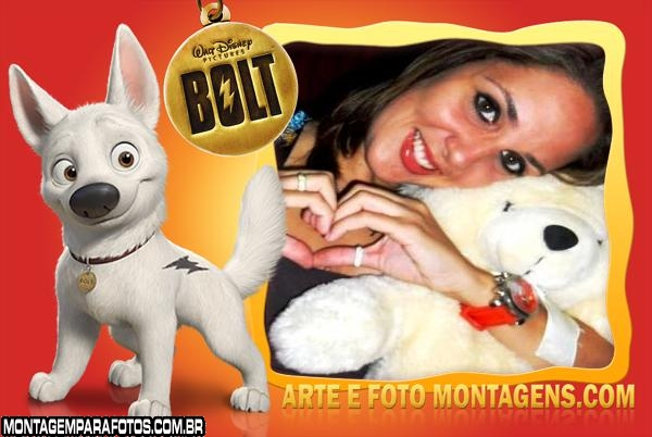 Moldura Cachorrinho Bolt