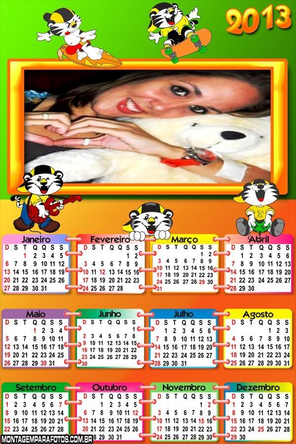 Calendário Tigor T Tigor 2013