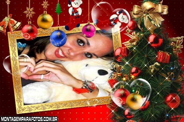 Árvore de Natal Moldura
