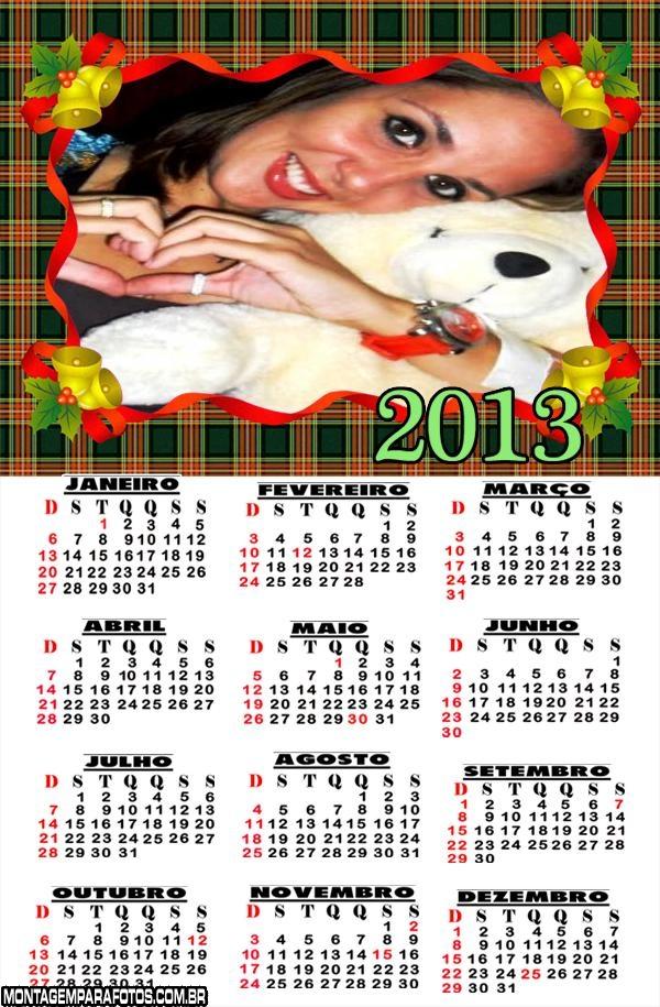 Calendário Natalino 2013