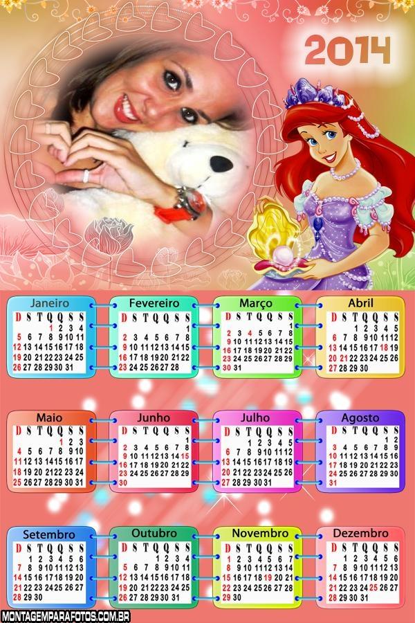 Calendário Ariel Jóias 2014
