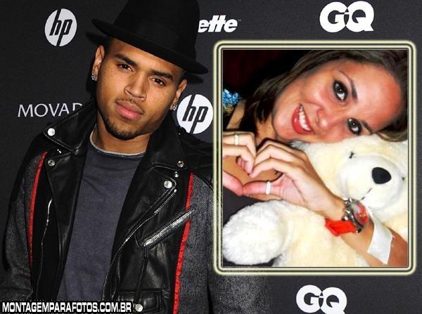 Moldura Chris Brown