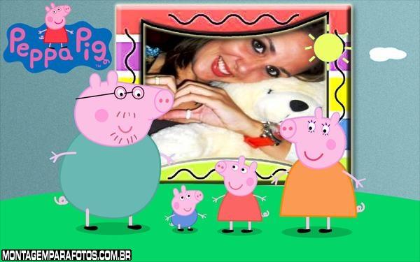 Moldura Peppa Pig