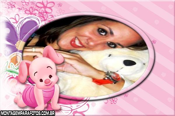 Desenho Porquinho Rosa