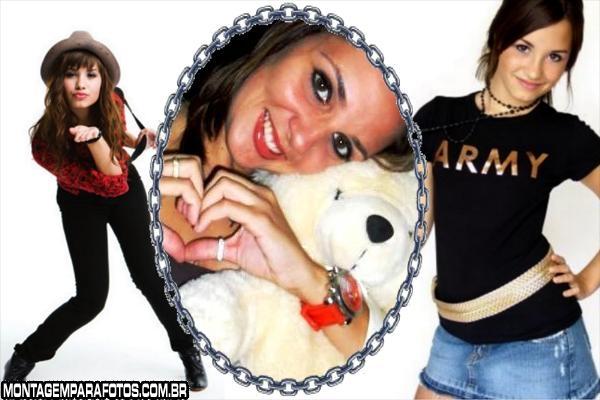 Moldura Poses Demi Lovato