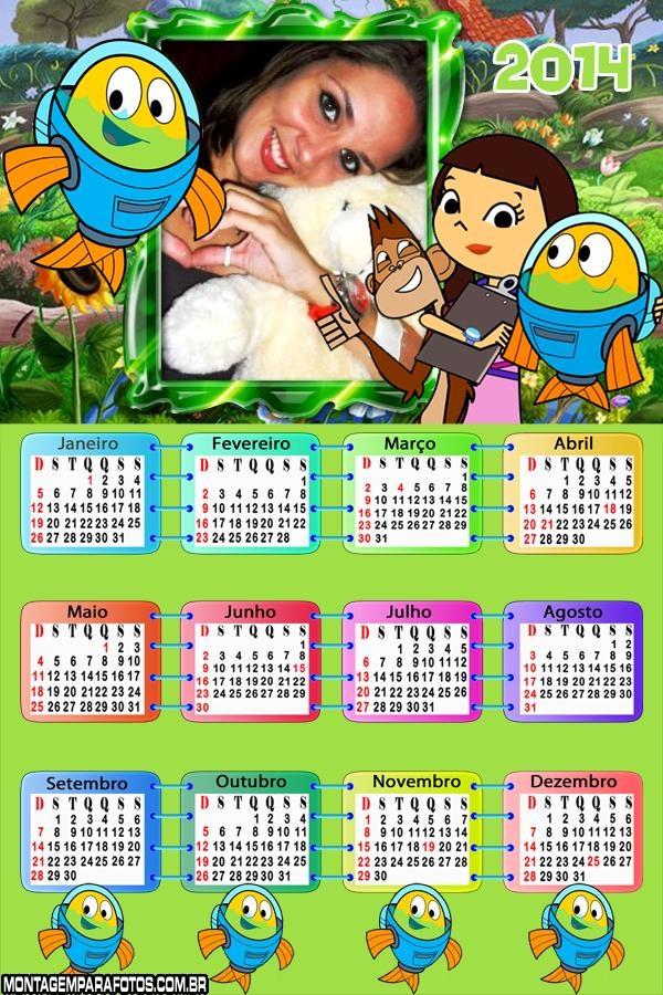 Calendário 2014 Peixonautas