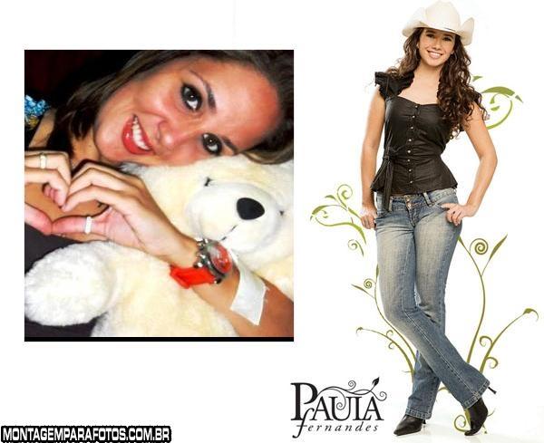 Paula Fernandes Cantora