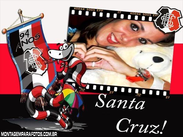 Moldura Mascote do Santa Cruz