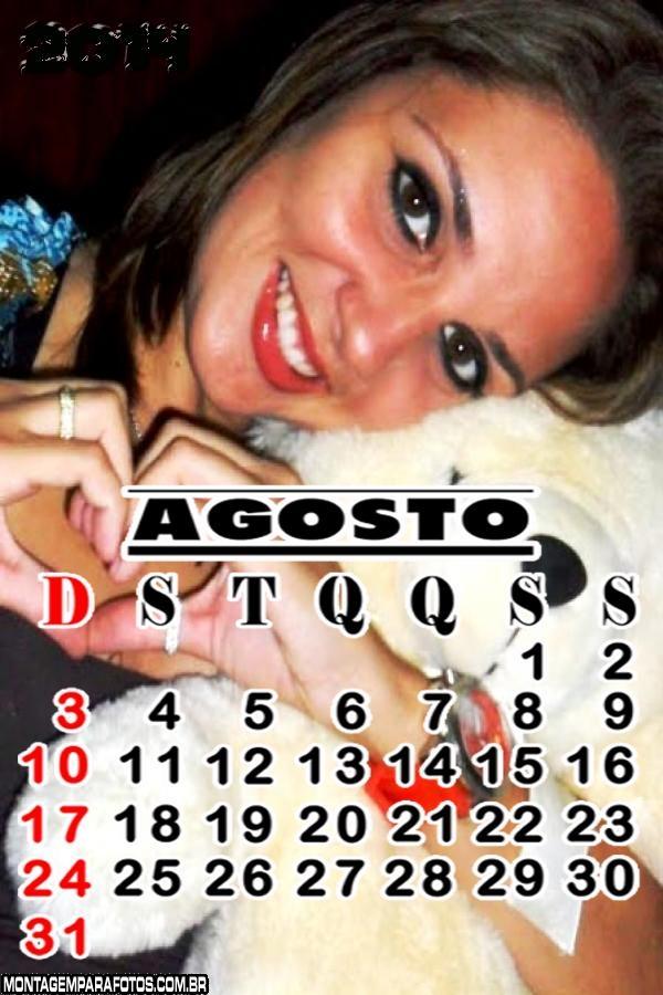 Calendário Agosto 2014