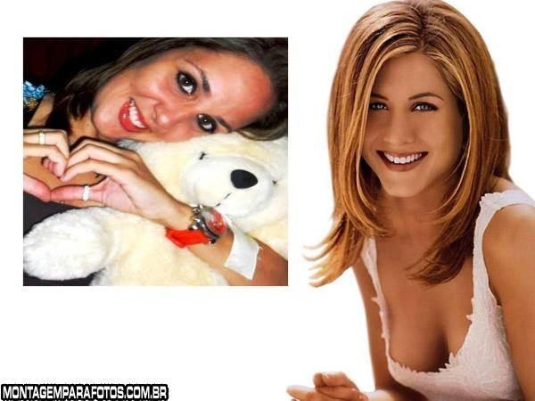 Moldura Jennifer Aniston Atriz