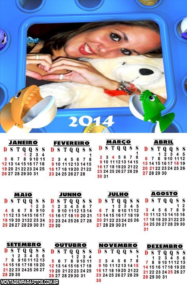 Calendário 2014 Piranhas