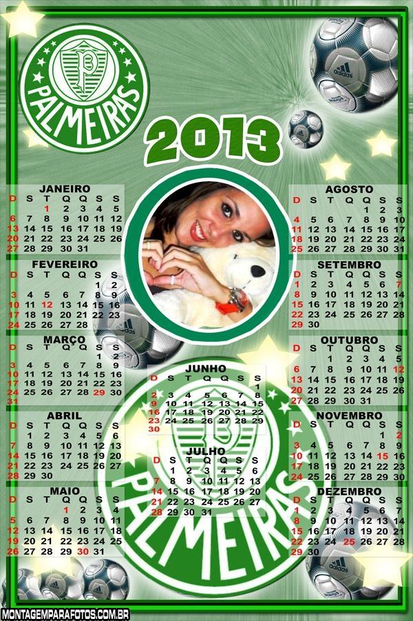 Calend�rio Palmeiras 2013