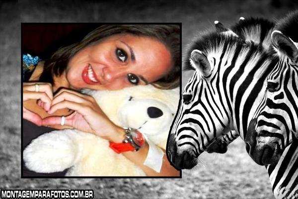 Moldura Trio das Zebras