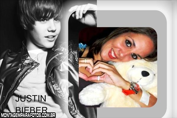 Justin Bieber Preto e Branco