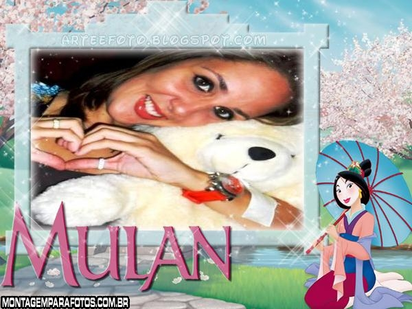 Moldura Japonesa Mulan