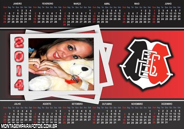 Calendário 2014 Santa Cruz