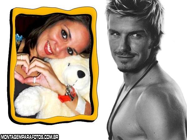 Moldura David Beckham