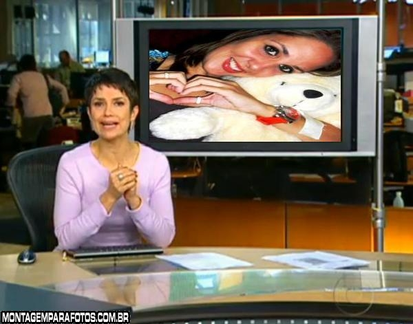 Montagem Jornal Hoje da Globo