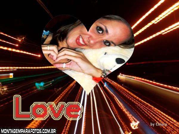 Moldura Love Digital