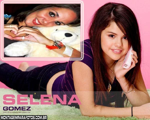 Moldura da Selena Gomez