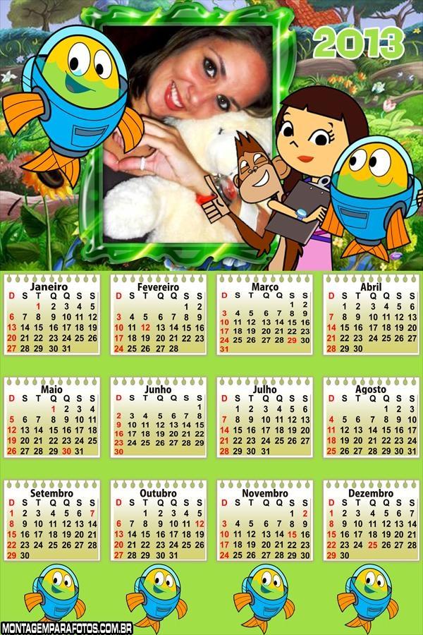Calendário Peixonautas 2013