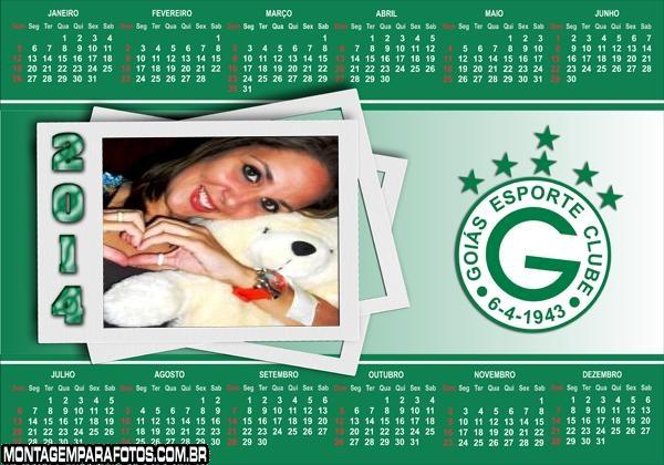 Calendário 2014 Goiás