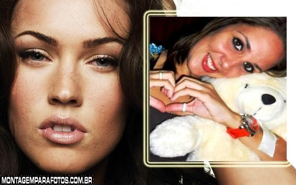 Moldura Megan Fox