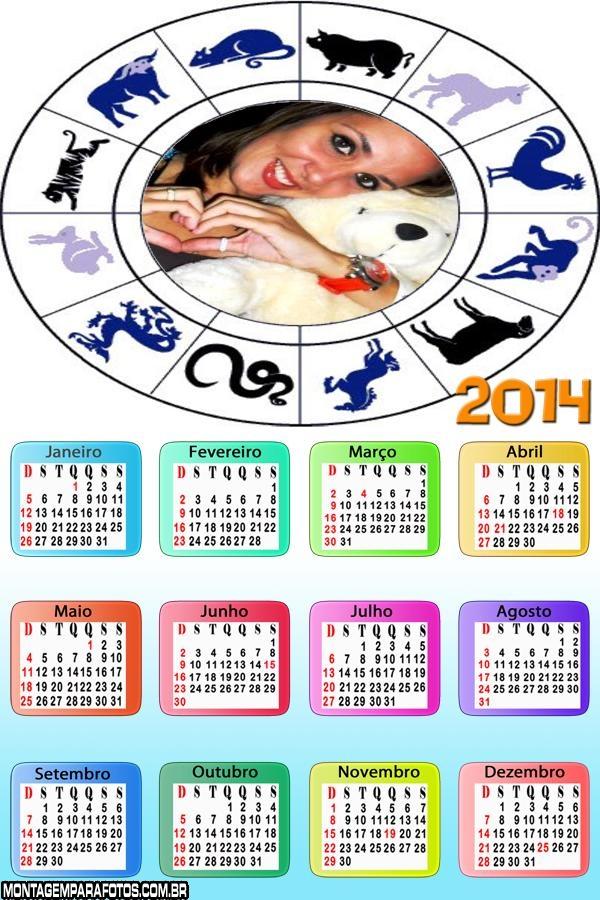 Calendário Chinês 2014