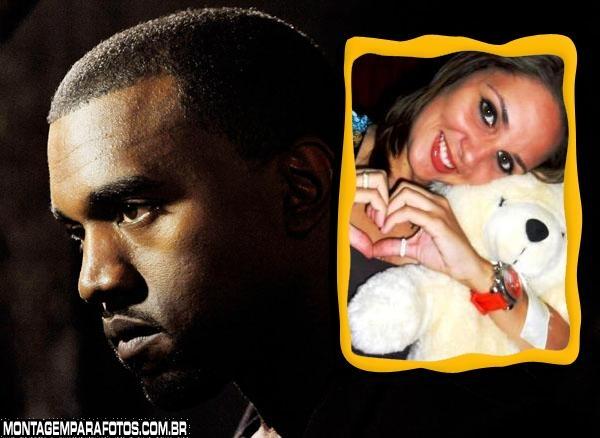 Moldura Kanye West