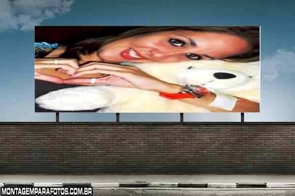 Moldura Painel de Publicidade