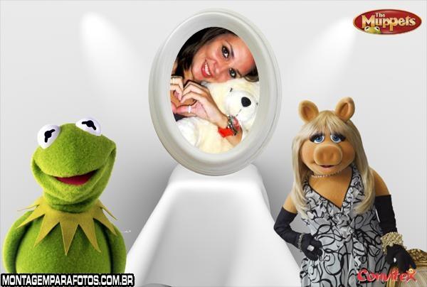 Moldura Muppets Espelho
